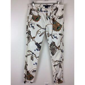 Ralph Lauren Native American-Theme Skinny Jeans